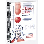 A Demo A Day for Physical Science Book of Demonstrations and Experiments