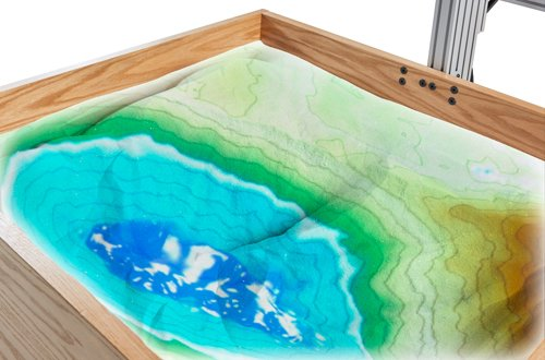 Augmented reality sandbox augmented reality sandbox earth science geology topography urtaz Gallery