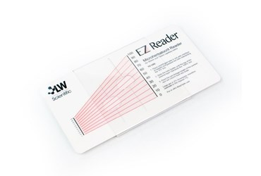 EZ Reader Microhematocrit Card for ZipCombo Microcentrifuge