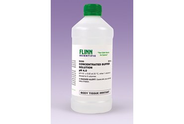 Buffer Solution Concentrated pH 4 500 mL