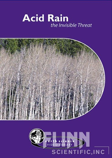 Acid Rain: The Invisible Threat DVD for Environmental Science