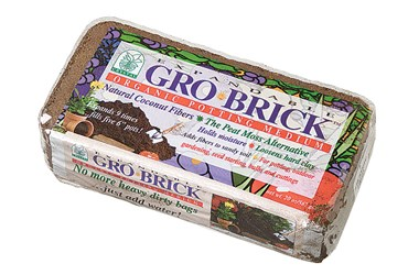 Gro-Brick™ Planting Medium for Biology and Life Science