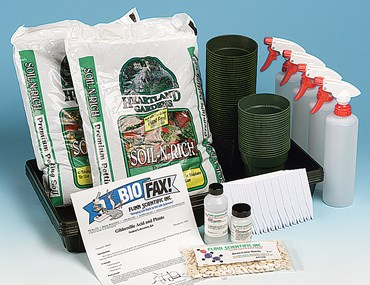 Gibberellic Acid and Plants Laboratory Kit for Biology and Life Science