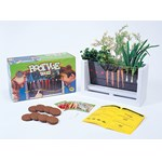 Root-Vue Farm with Visible Root System for Biology and Life Science