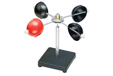 Working Model Anemometer for Earth Science and Meteorology