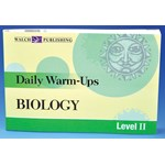 Daily Warm-Ups Book for Biology and Life Science