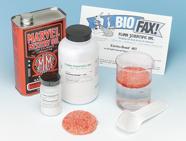 Oil Spill Cleanup Environmental Chemistry Demonstration Kit
