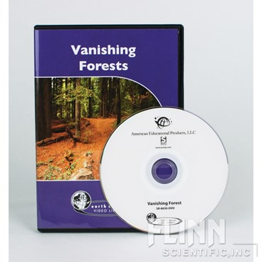 Vanishing Forest DVD for Environmental Science