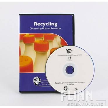 Recycling: Conserving Natural Resources DVD for Environmental Science