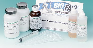 Flinn Winkler Dissolved Oxygen Test Kit for Environmental Science
