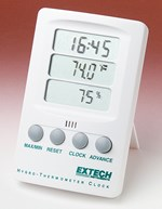 Digital Hygro-Thermometer Clock for Earth Science and Meteorology