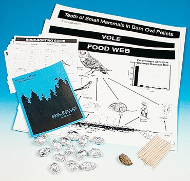 Owl Pellet Classroom Dissection and Activity Kit for Biology and Life Science