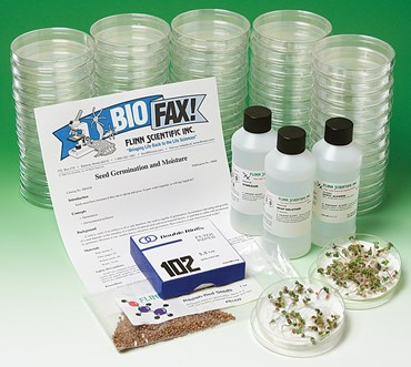 Seed Germination and Moisture Botany Guided-Inquiry Kit for Biology and Life Science