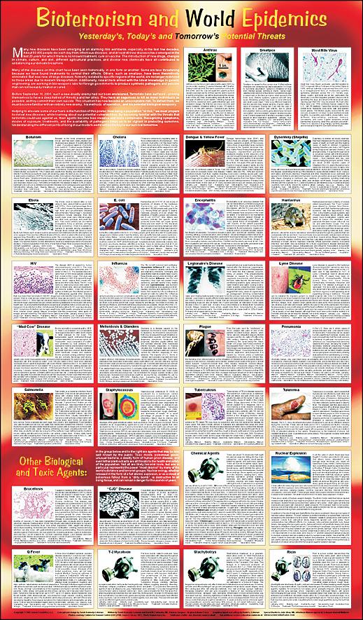 Bioterrorism And World Epidemics Poster
