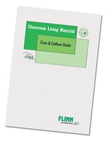 Classroom Living Material Care and Culture Guide for Biology and Life Science