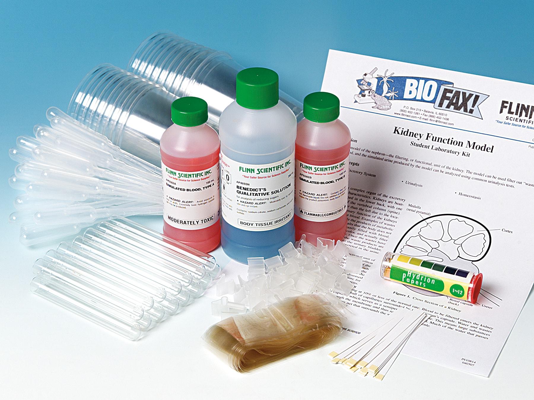 Kidney Function Model - Student Laboratory Kit