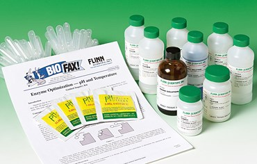 Enzyme Optimization, pH and Temperature Biochemistry Guided-Inquiry Kit