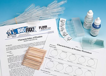 Characteristics of Protists Animal Behavior Laboratory Kit for Biology and Life Science