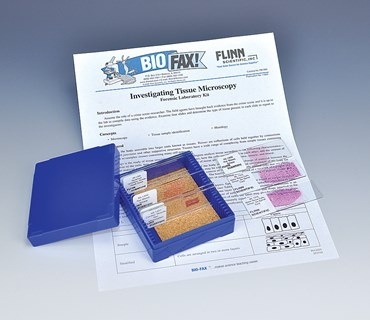 Investigating Tissue and Forensic Microscopy Laboratory Kit for Biology and Life Science