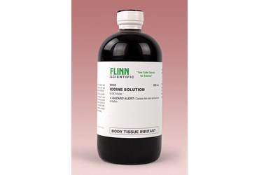 Iodine 0.05 M Solution 500 mL