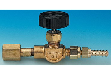 Brass Lecture Bottle Control Valve