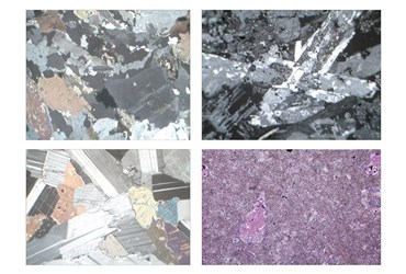 Rocks and Minerals, Ground Thin, Slide Sets