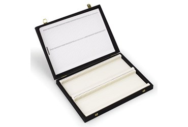 Slide Box for 12 Microscope Slides for Biology and Life Science