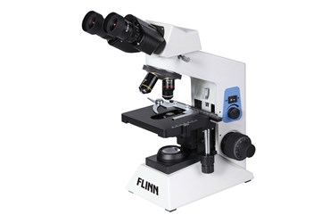 Flinn University and College Binocular Compound Microscope, Plan and Gemel and LED