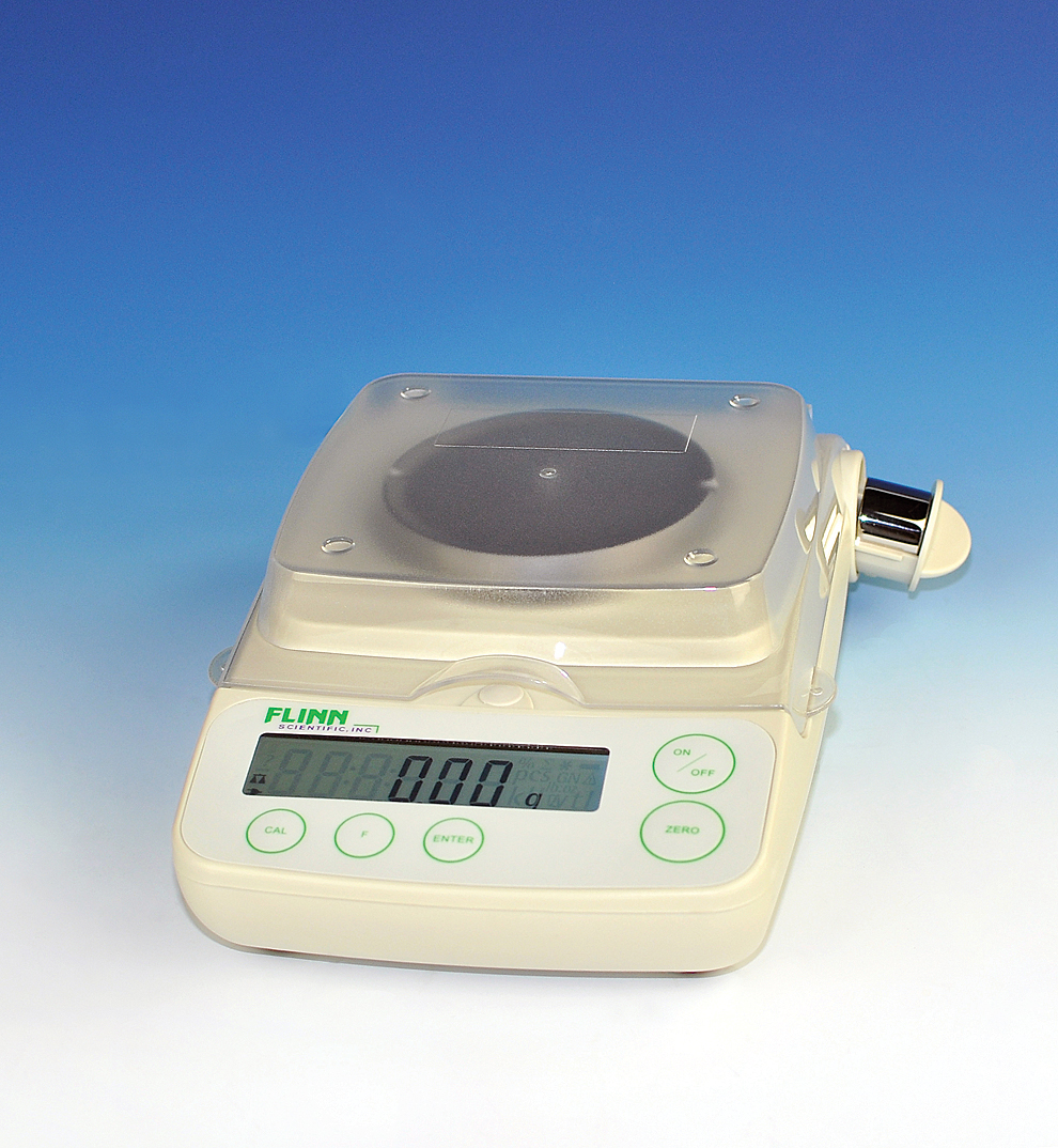 38e60260a2ce Flinn Scientific Electronic Balance, 210 x 0.01-g