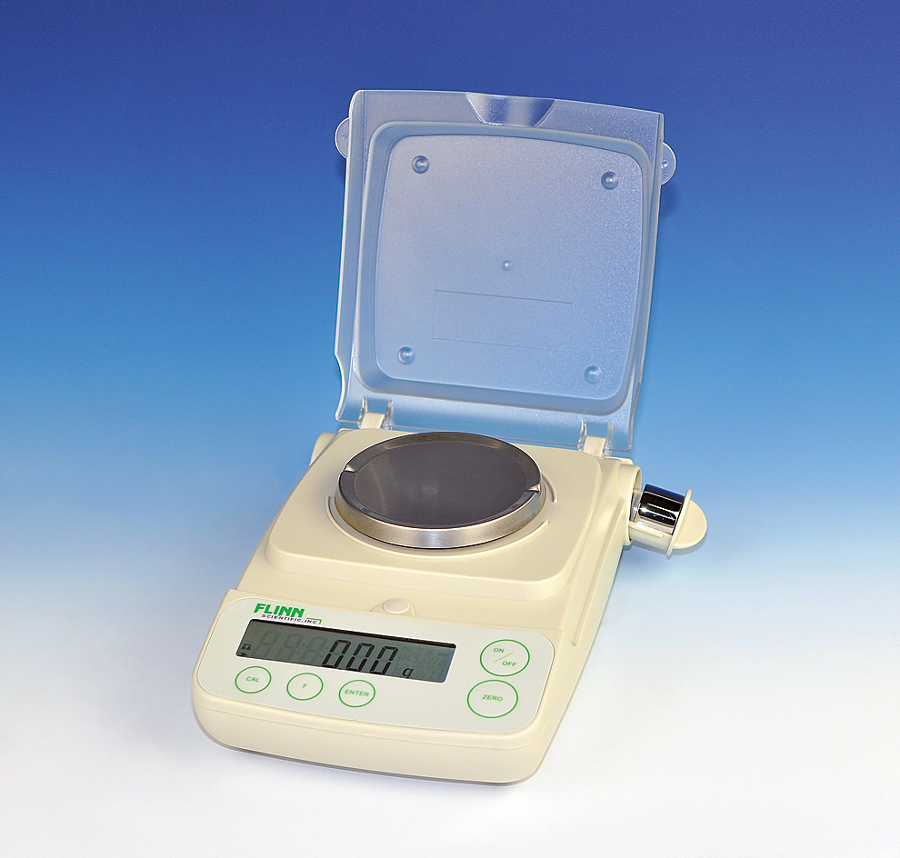 Flinn Scientific Electronic Balance, 210 x 0.01-g for Balance Laboratory Apparatus  55jwn
