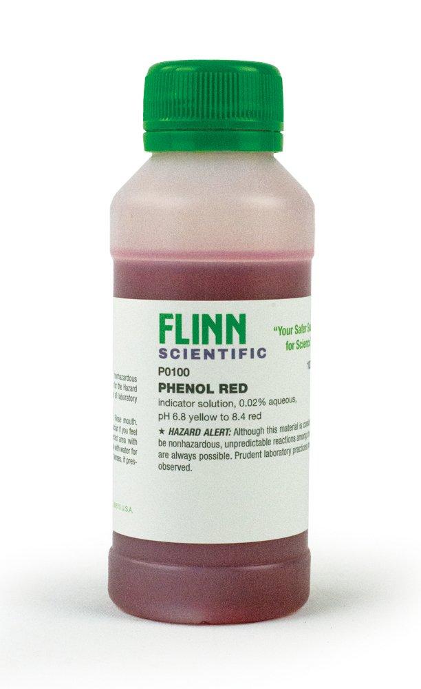 Phenol Red Indicator Solution 100 Ml