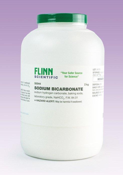 Sodium Bicarbonate, Laboratory Grade, 2 kg