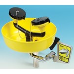Lab Safety Eye Wash and Face Wash with Bowl and Wall Mount