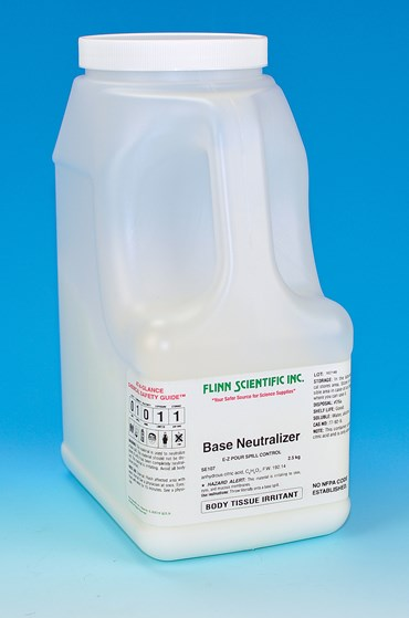 E-Z Pour Base Neutralizer for Chemical Spill Control
