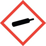 health hazard, flame, exclamation mark, gas cylinder, corrosion, exploding bomb, flame over circle, skull and crossbones