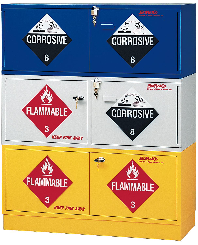 Flinn Scimatco 174 Stak A Cab Cabinets For Safer Chemical
