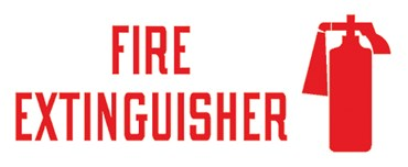 "Safety Sign ""Fire Extinguisher"""