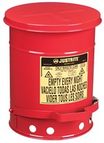 Fire-Containment Waste Can, 6-Gallon