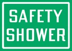 "Safety Sign ""Safety Shower"""