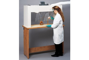 Portable Demonstration Hood for Science Lab