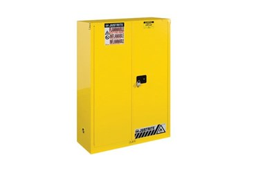 Justrite Metal Flammable Storage Cabinet, 12-Gallon