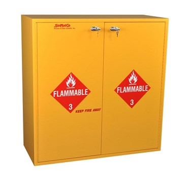 Flinn/SciMatCo® 54-Gallon Floor Flammables Cabinet for Safer Chemical Storage