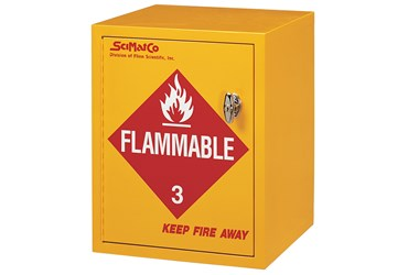 Flinn/SciMatCo® Benchtop Flammables Cabinet for Safer Chemical Storage