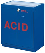Flinn/SciMatCo® Acid Cabinet for Safer Chemical Storage, Partially Lined