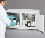 Flinn/SciMatCo® Mini Stak-a-Cab™ Flammables Cabinet with Self-Closing Doors for Safer Chemical Storage
