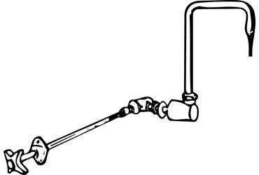 Water Outlet, Gooseneck Faucet