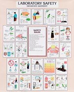 Laboratory Safety Wall Chart an Poster