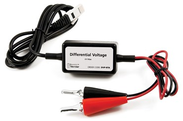 Differential Voltage Probe for Vernier Data Collection