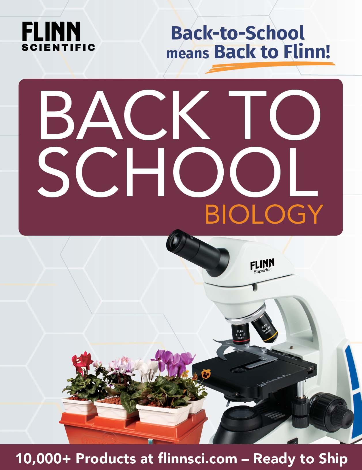 Back to School HS Biology Mini Catalog 2018