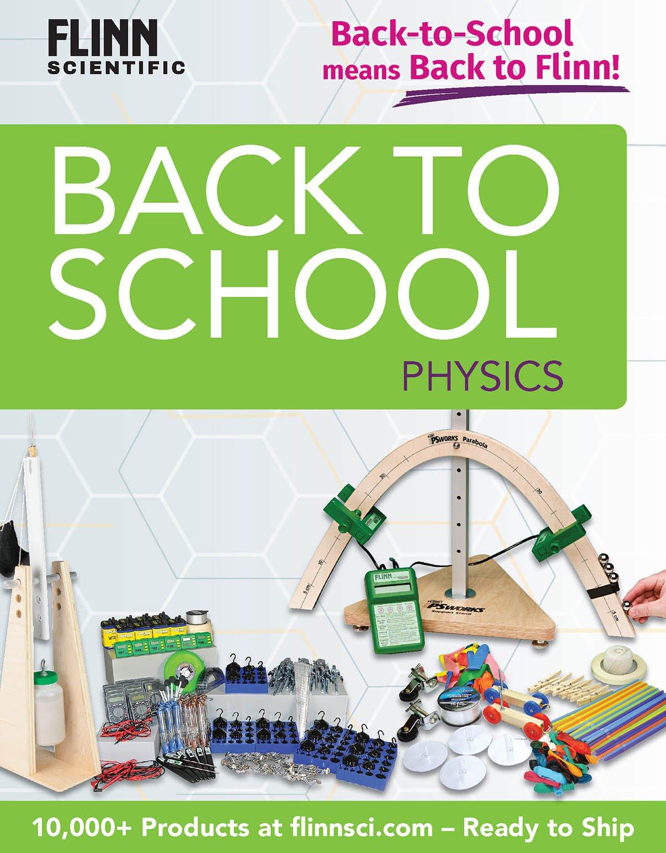 Back to School HS Physics Mini Catalog 2018